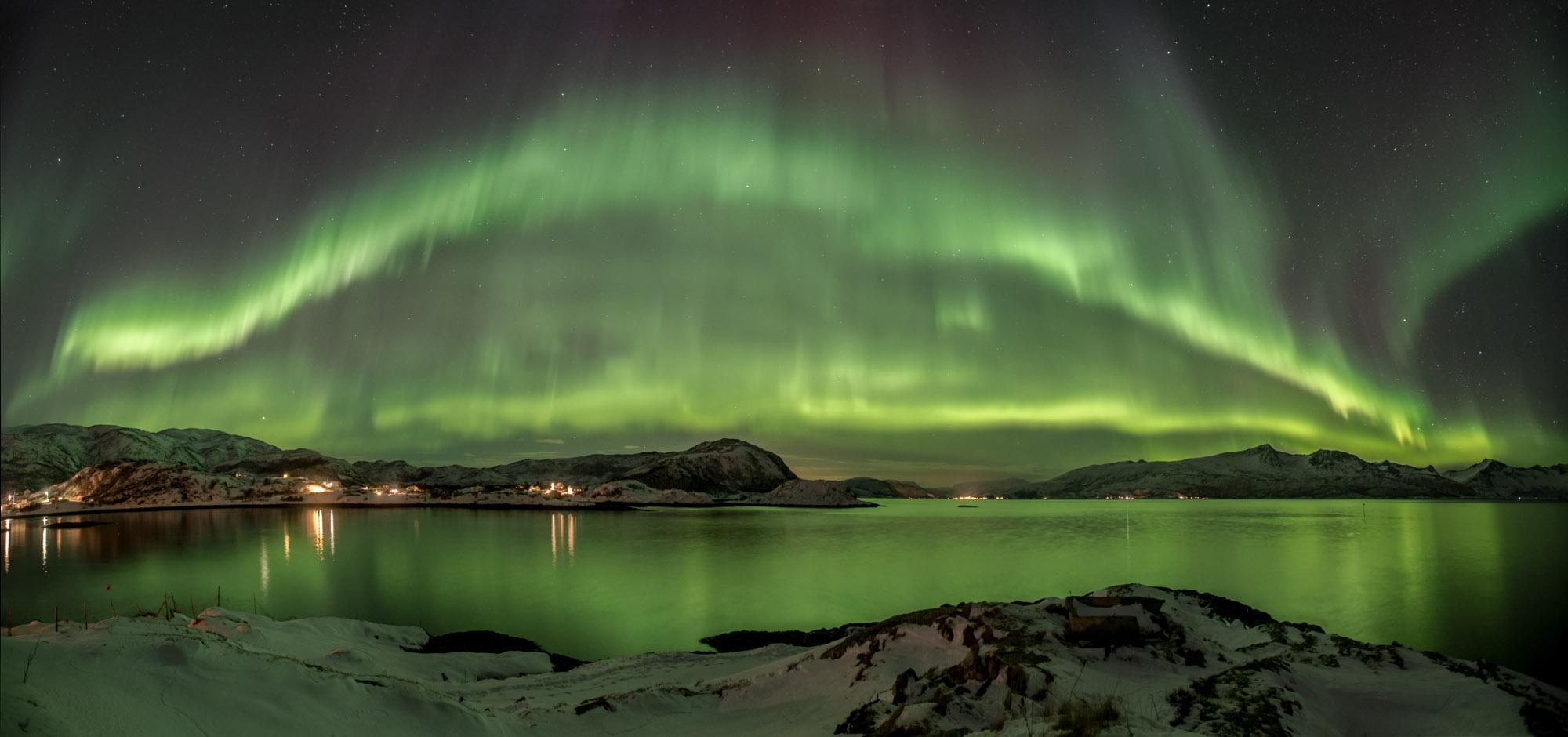 Aurora Borealis over Norway 2017