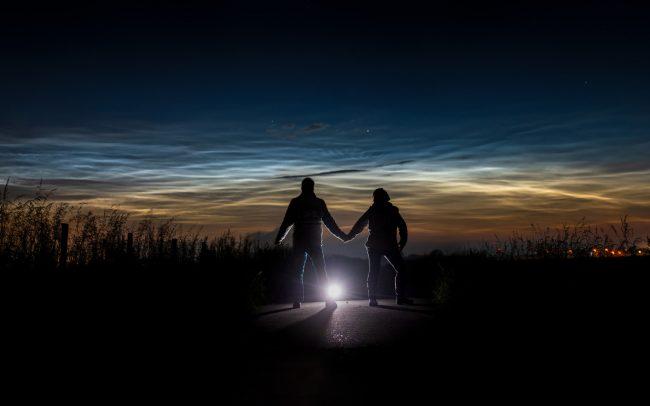 noctilucent clouds twisk