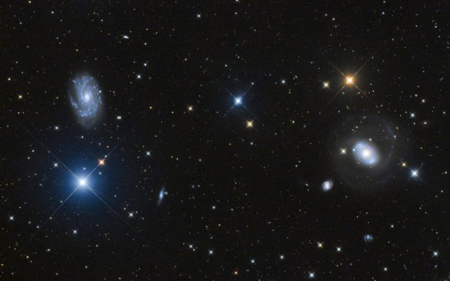NGC4151, NGC4145, ODK10, QHY168c, Mesu200. 240 minutes exposure