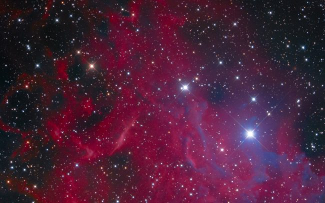 Flaming Star. IC405 Ha:L:R:G:B, 195:240:120:120:120 12 inch RC. QSI583WSG. SXAOL. GeminiG42