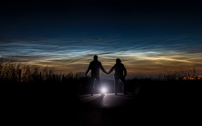 noctilucent clouds twisk