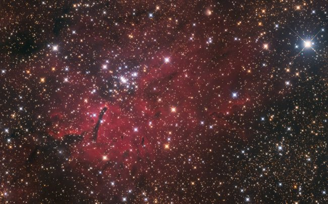 NGC6820, ODK10, QHY168c, Mesu200. 380 minutes exposure